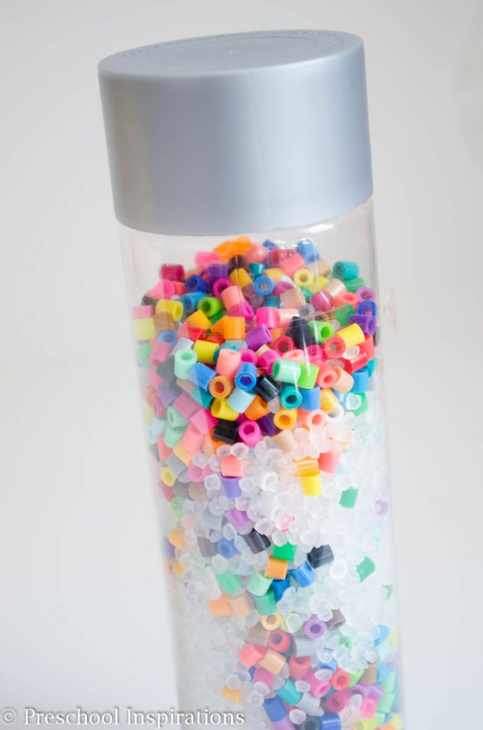 Musical Shaker Discovery Bottle with Beads-2