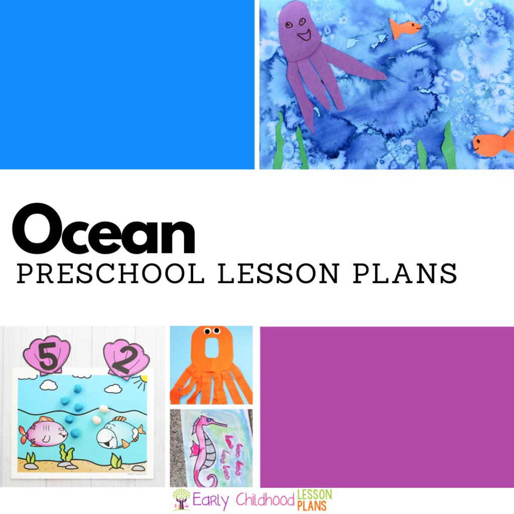 cover image for preschool ocean lesson plans
