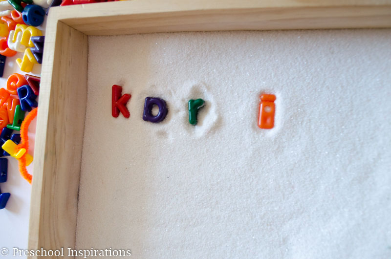 Alphabet Sand Tray Loose Pieces Play by Preschool Inspirations-7