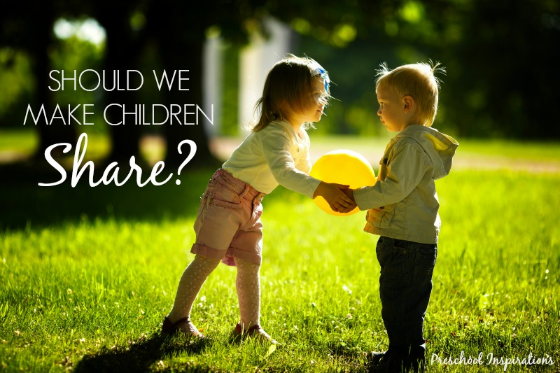 Should we make children share by Preschool Inspirations