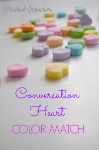 Conversation Heart Color Match