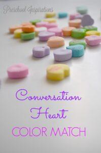 Conversation Heart Color Match