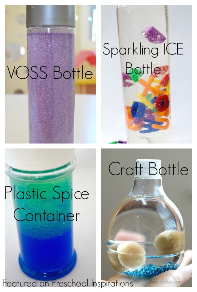 How to Make a Perfect Sensory Bottle - Preschool Inspirations