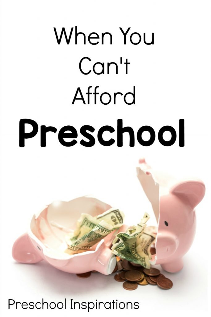 What to do when you can't afford preschool