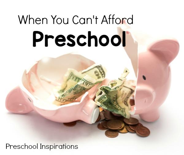 When you can't afford preschool