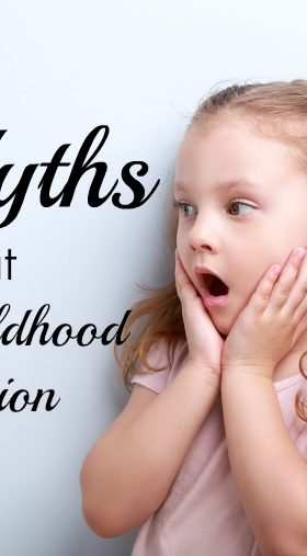 5 Myths About Early Childhood Education