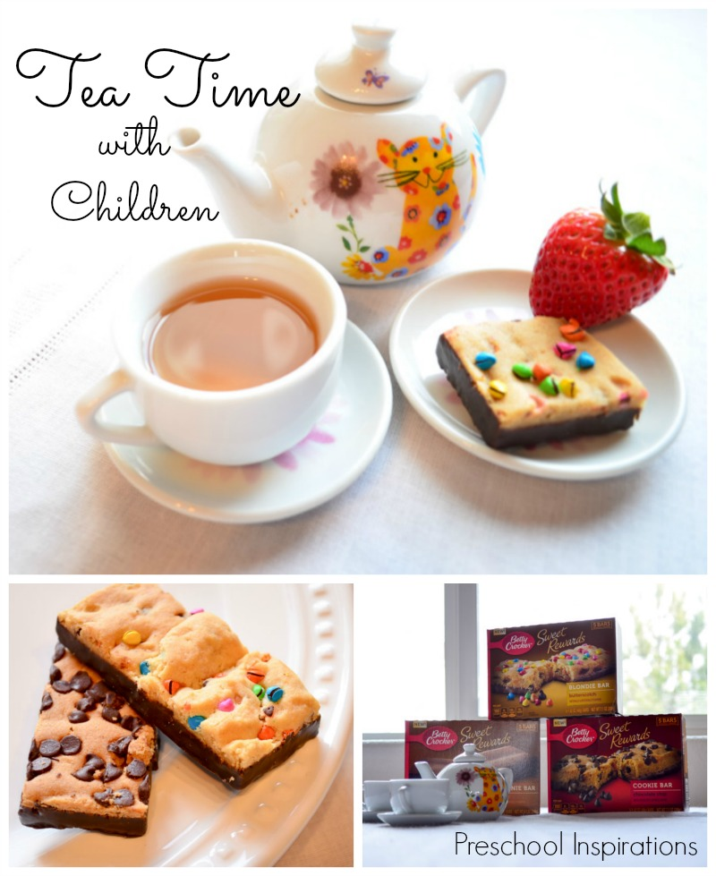 Tea Time with Children #BlissfulMoments #CollectiveBias