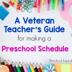 A veteran teacher's guide for turning a schedule from good to great!