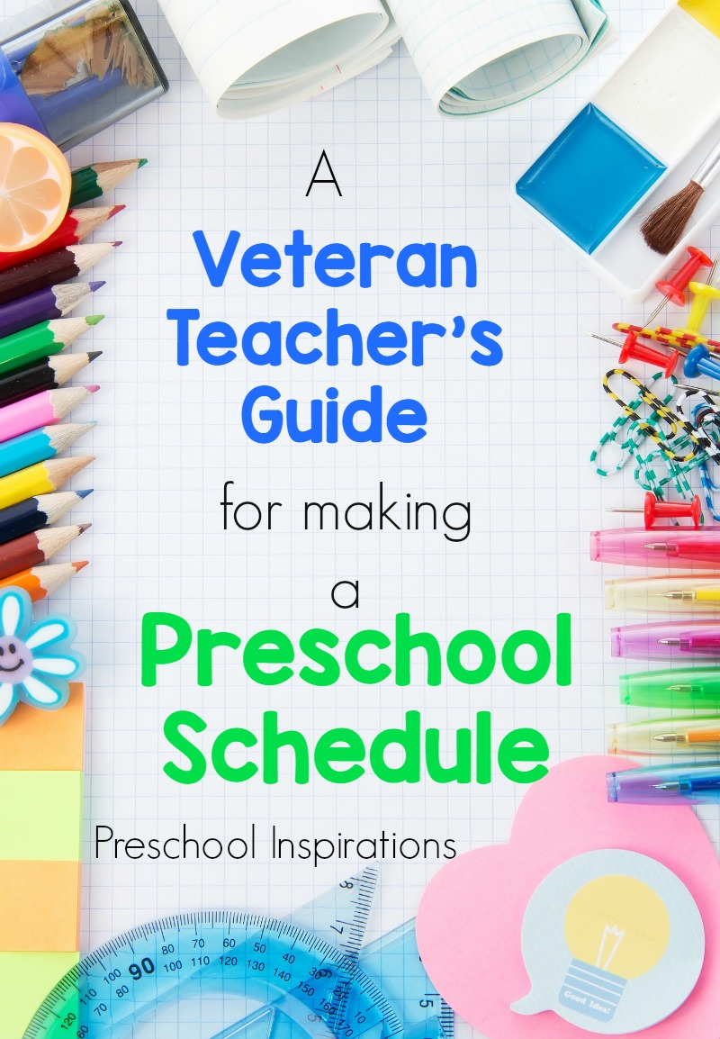 Turn your schedule from good to great with this veteran teacher's guide for  making a preschool