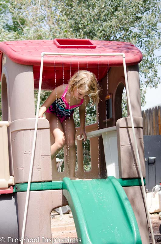 DIY PVC Pipe Mini Splash Pad - Preschool Inspirations-3