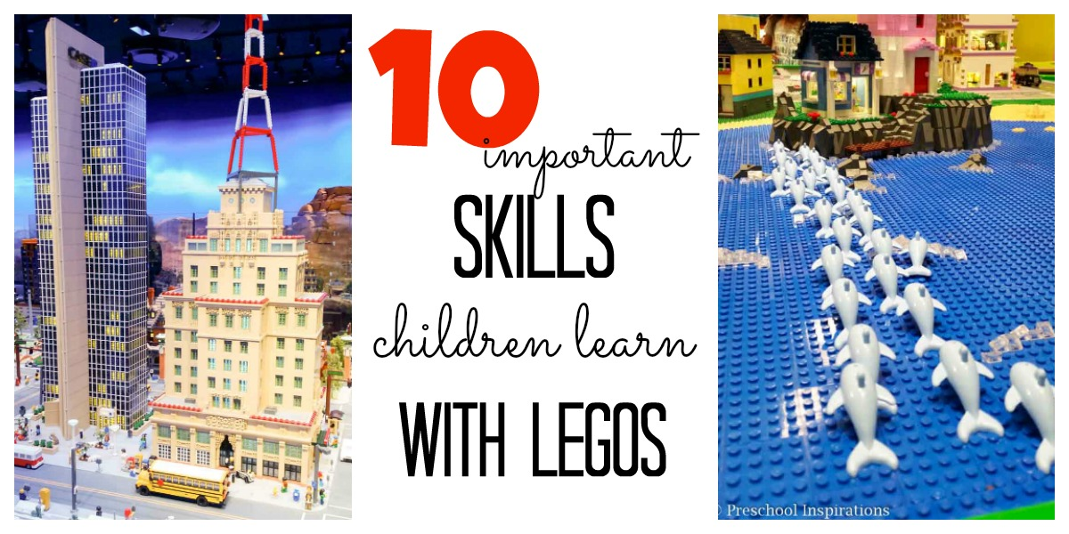 10 Important Skills Children Learn from LEGOs - Preschool Inspirations