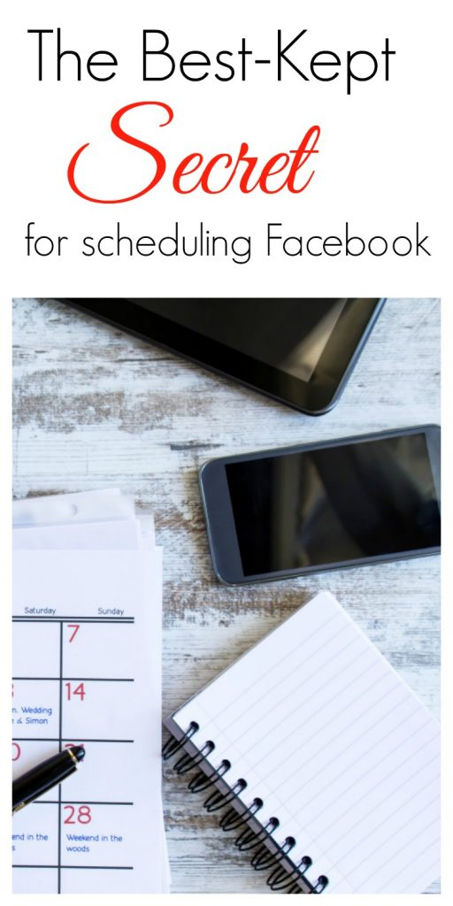 The Best-Kept Secret for Scheduling Facebook