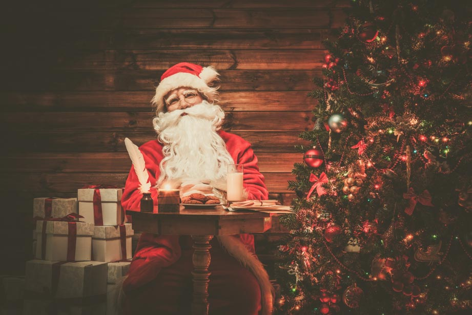 What to say to children when they ask if Santa is real without lying or spoiling it.