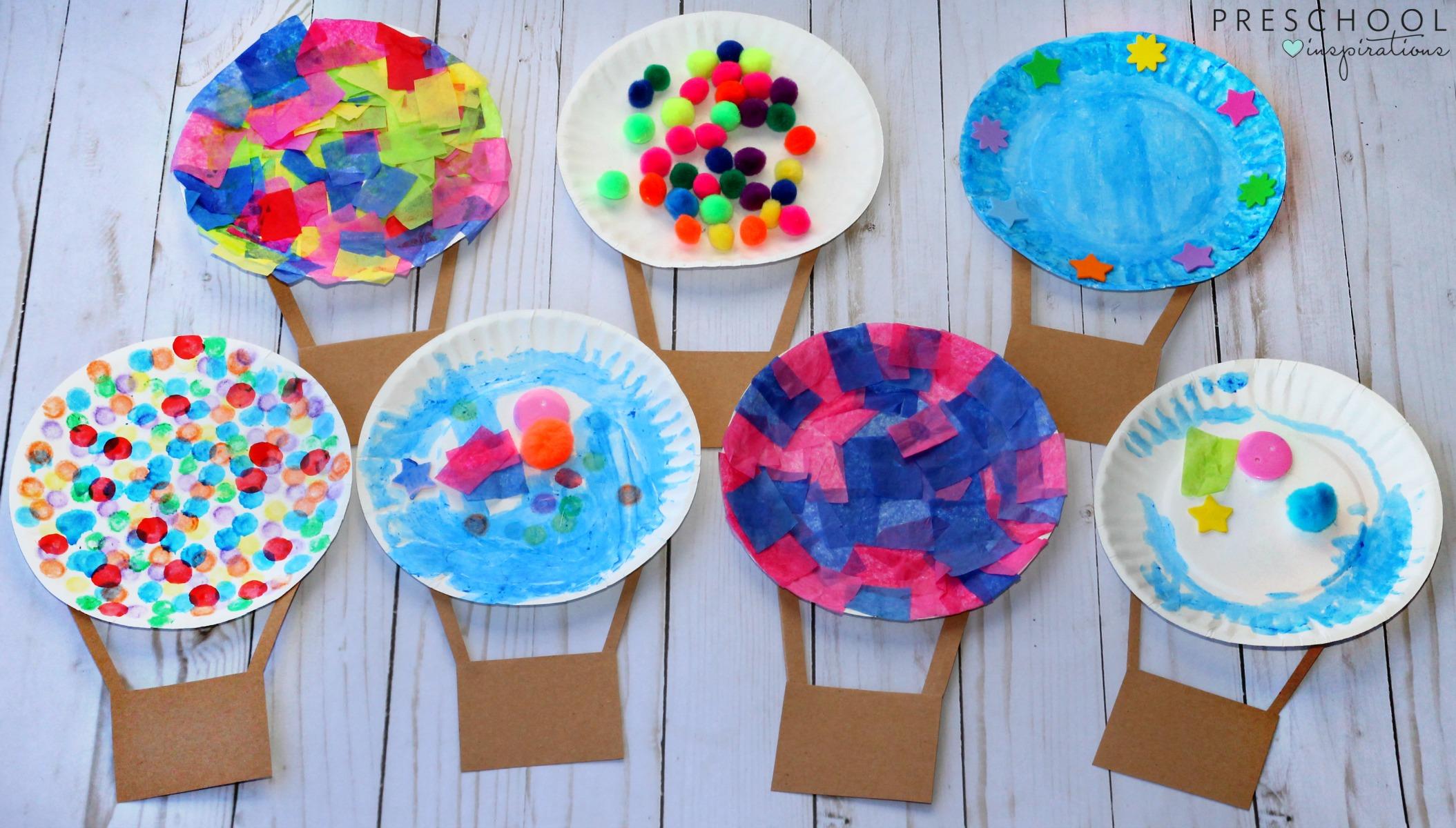 Air Balloon Arts And Crafts