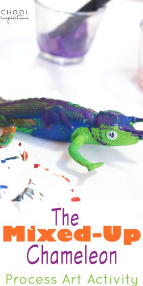 The Mixed-Up Chameleon Process Art Activity