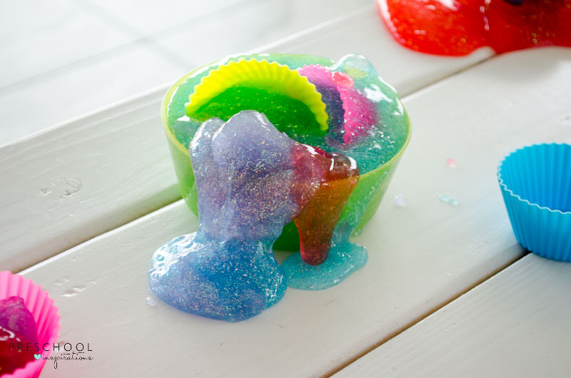 Need the perfect slime recipe. This slime recipe with borax is so inviting and calming. It is an inviting play recipe that will keep children busy for hours!