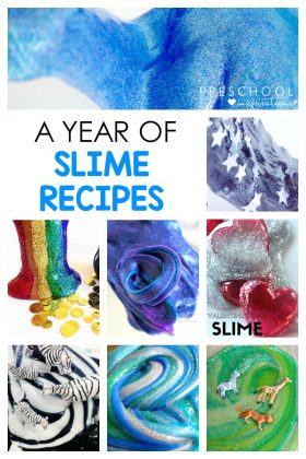 Need the perfect slime recipe? Here is a slime recipe for any season or some of the best themes for an entire year!
