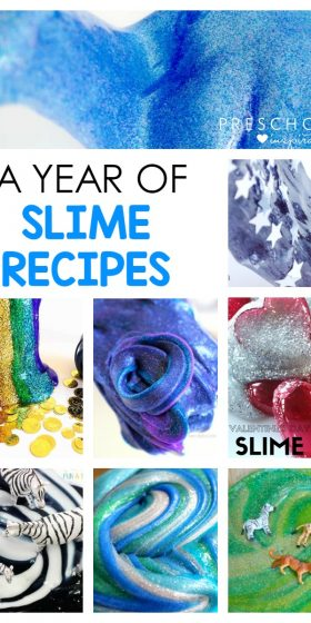 A Year of Amazing Slime Recipes