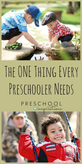 Don't Worry, Parents of Preschoolers – Playing IS Learning