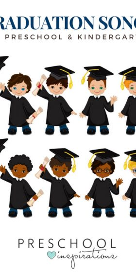 Graduation Songs for Preschool & Kindergarten