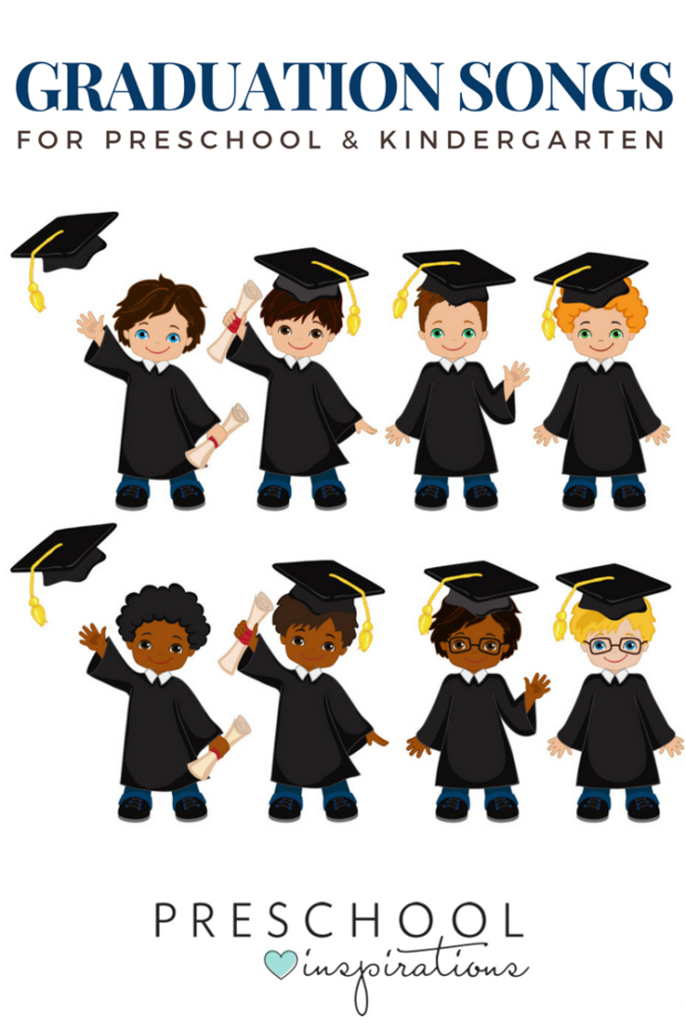 Graduation Songs for Preschool & Kindergarten - Preschool ...