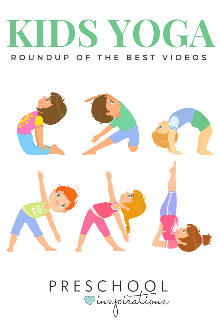 The Best Kid Yoga Videos Preschool Inspirations