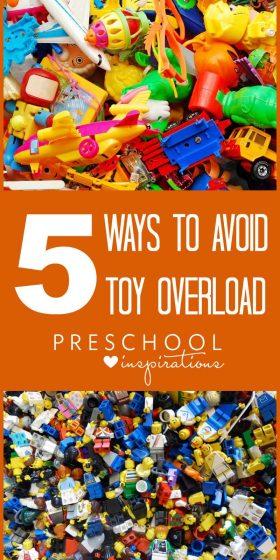 5 Ways to Avoid Having Too Many Toys