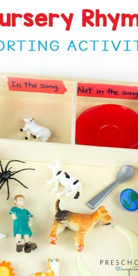 Simple Hands-On Nursery Rhyme Activity
