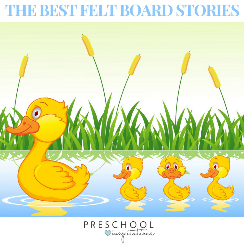 The Best Felt Board Stories for Circle Time