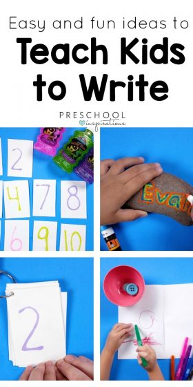 The Best Ways to Teach Kids to Write