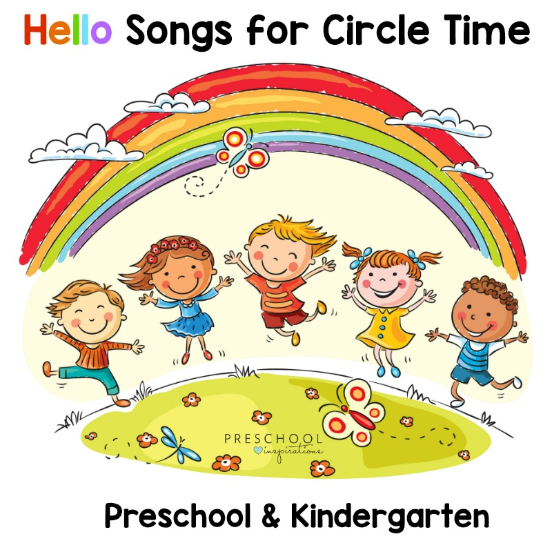photo about Make New Friends Song Printable called The Least complicated Hello there Music For Your Circle Season in just Preschool or