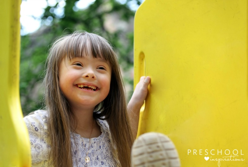 How I explained about the girl with Down syndrome to my daughter.