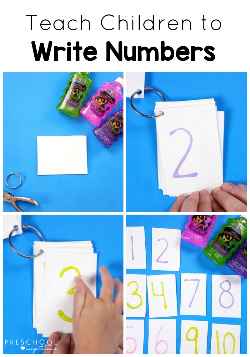 Use this mult-sensory method to teach children to write.