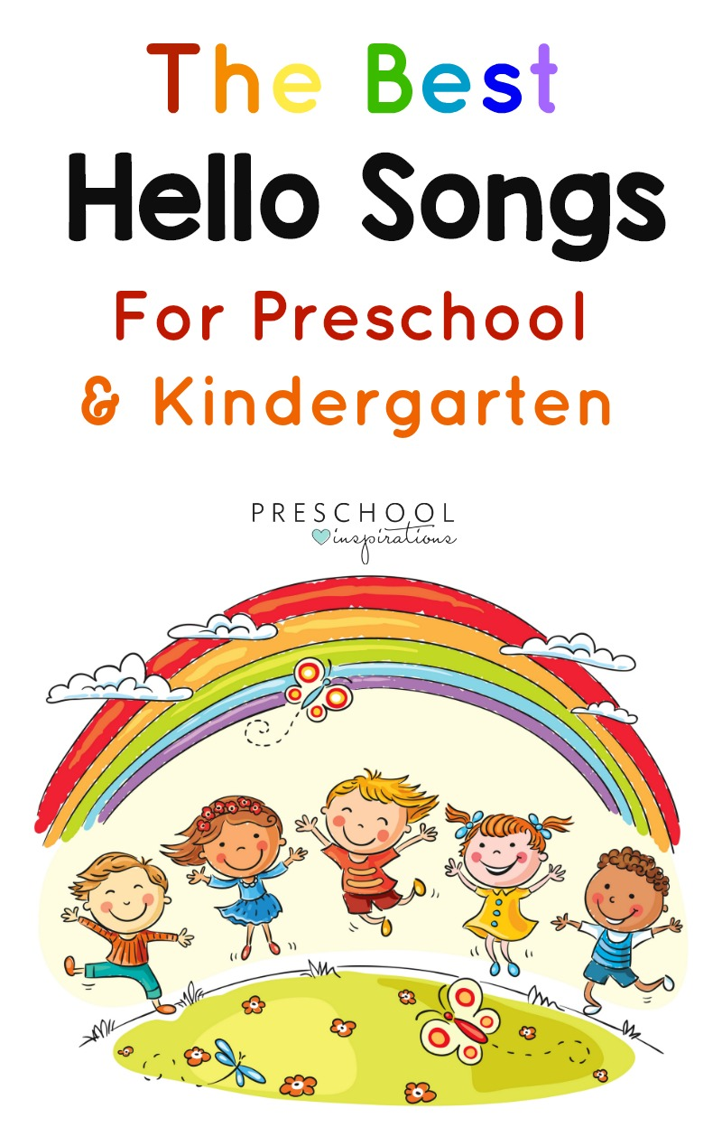 image relating to Were Moving Up to Kindergarten Printable Lyrics referred to as The Excellent Howdy Tunes For Your Circle Year within just Preschool or
