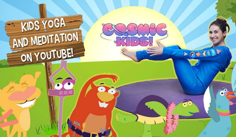 Brain Breaks for Kids from Cosmic Kids
