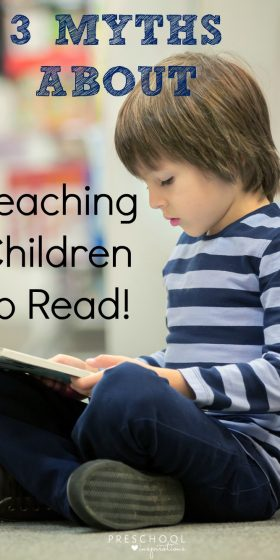 3 Myths about learning to read