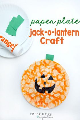 Easy Pumpkin Craft Perfect for Last Minute Halloween Fun