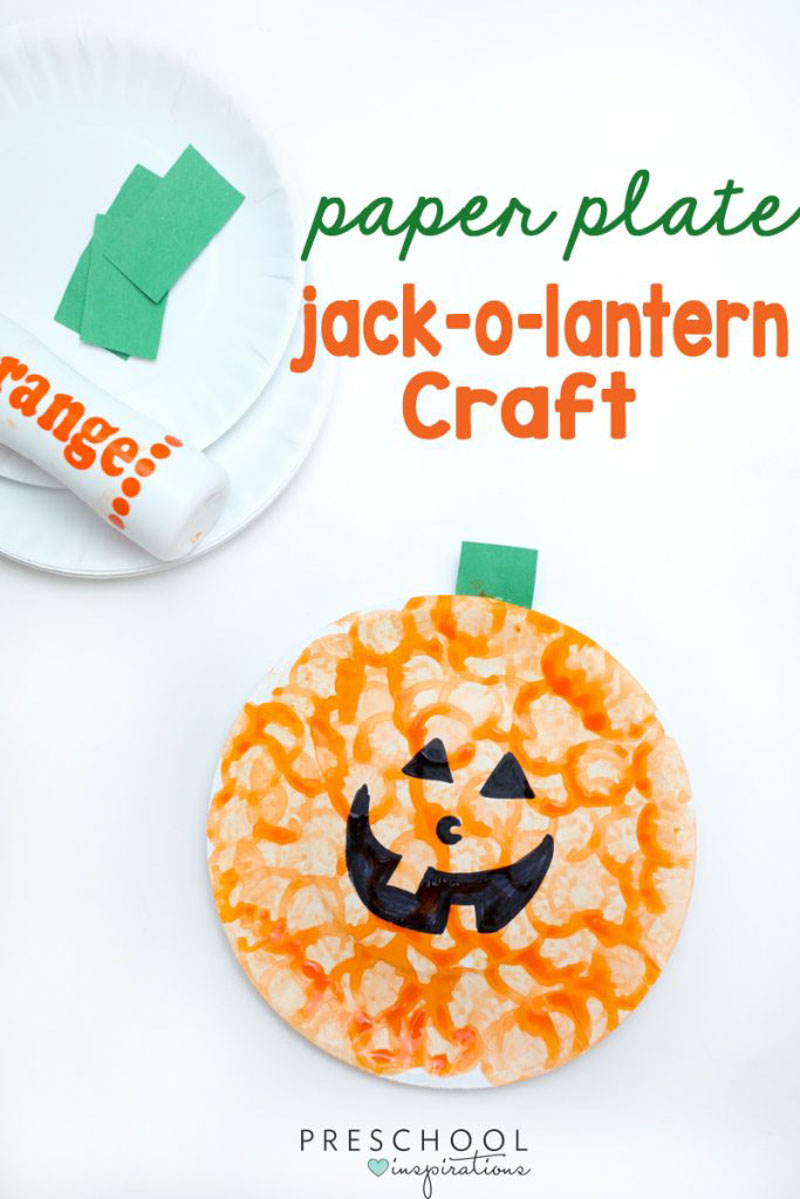 jack o lantern craft easy pumpkin craft for last minute 4764