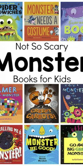 Not So Scary Monster Books for Kids
