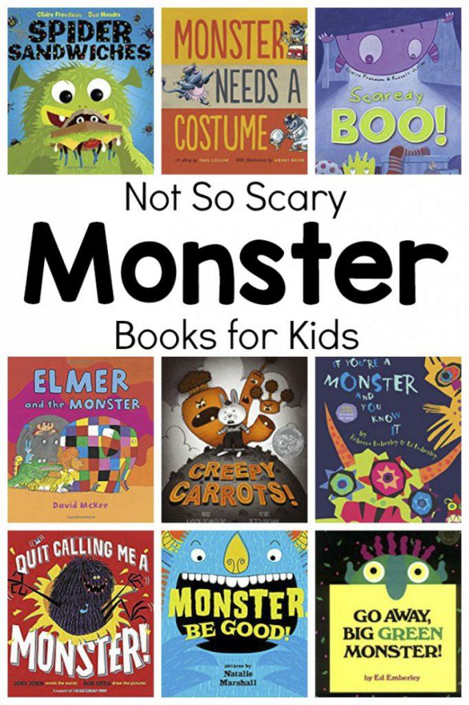 Not So Scary Monster Books For Kids Preschool Inspirations