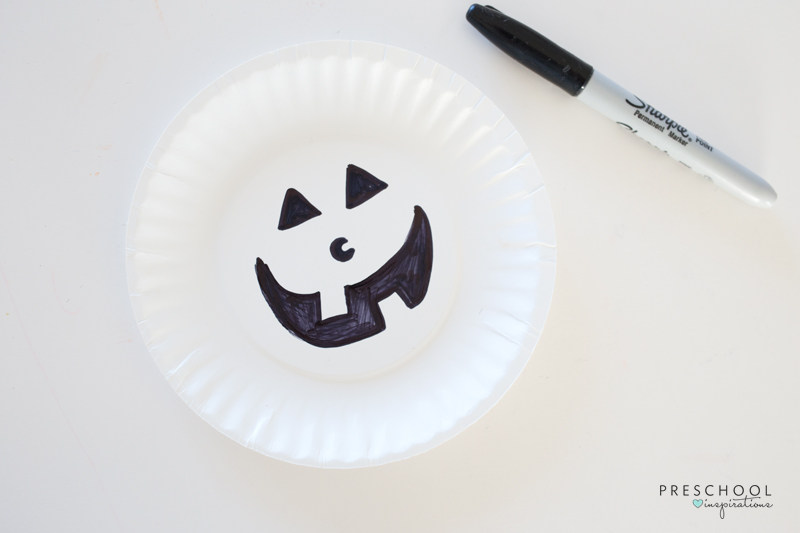 Easy to make pumpkin craft for kids