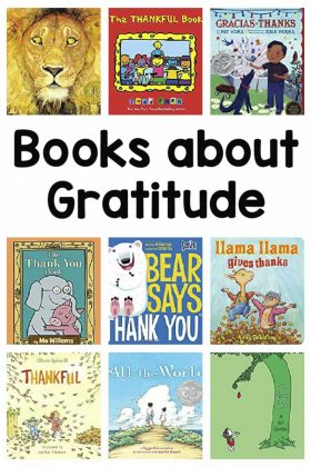 Teach children about thankfulness and gratitude with these books.