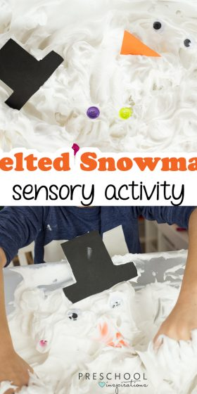 Fun and Simple Melted Snowman Sensory Activity