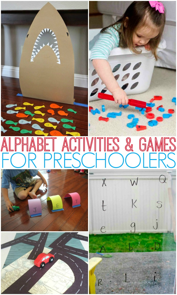 ABC games, alphabet activities, phonics activities, and more letter learning fun!