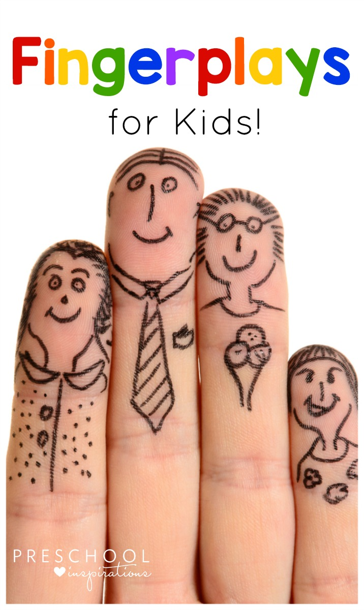 These fingerplays for kids are some of the best way to help children transition to circle time!
