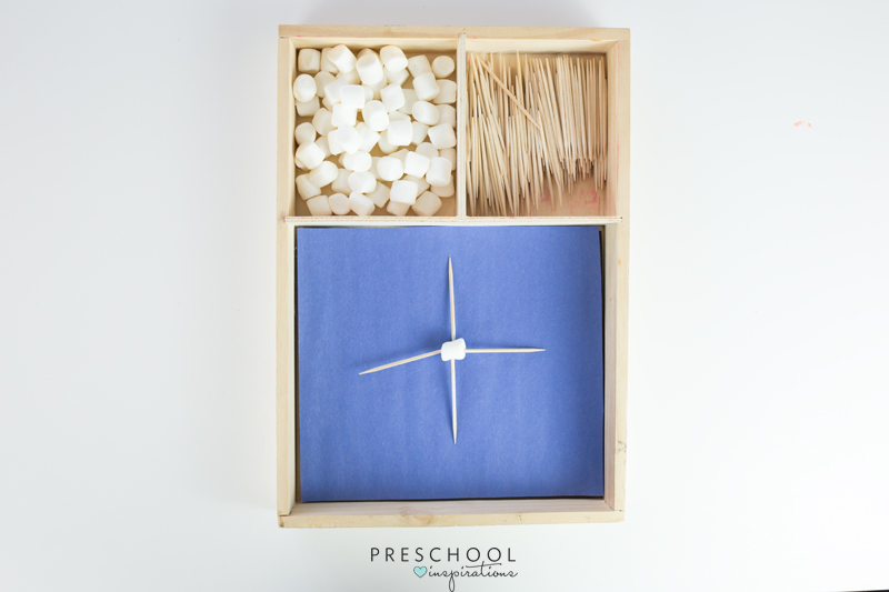 Use marshmallow and toothpick snowflakes to explore math and engineering