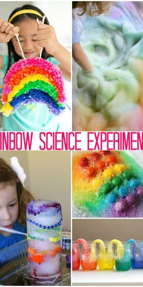 Super Fun Rainbow Science Activities Just For Kids