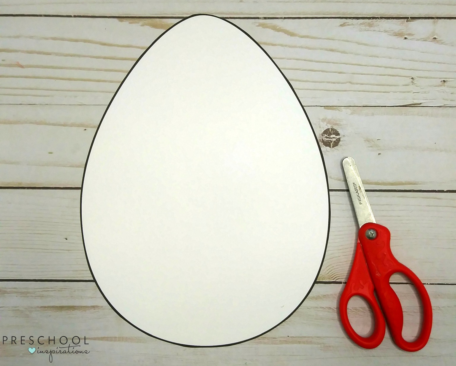 Ready to make tape resist Easter egg art with kids