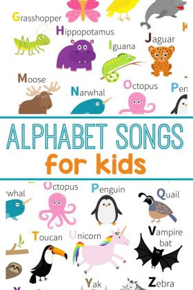 Teach the alphabet with these ABC songs for kids. Perfect for learning letters for preschool.