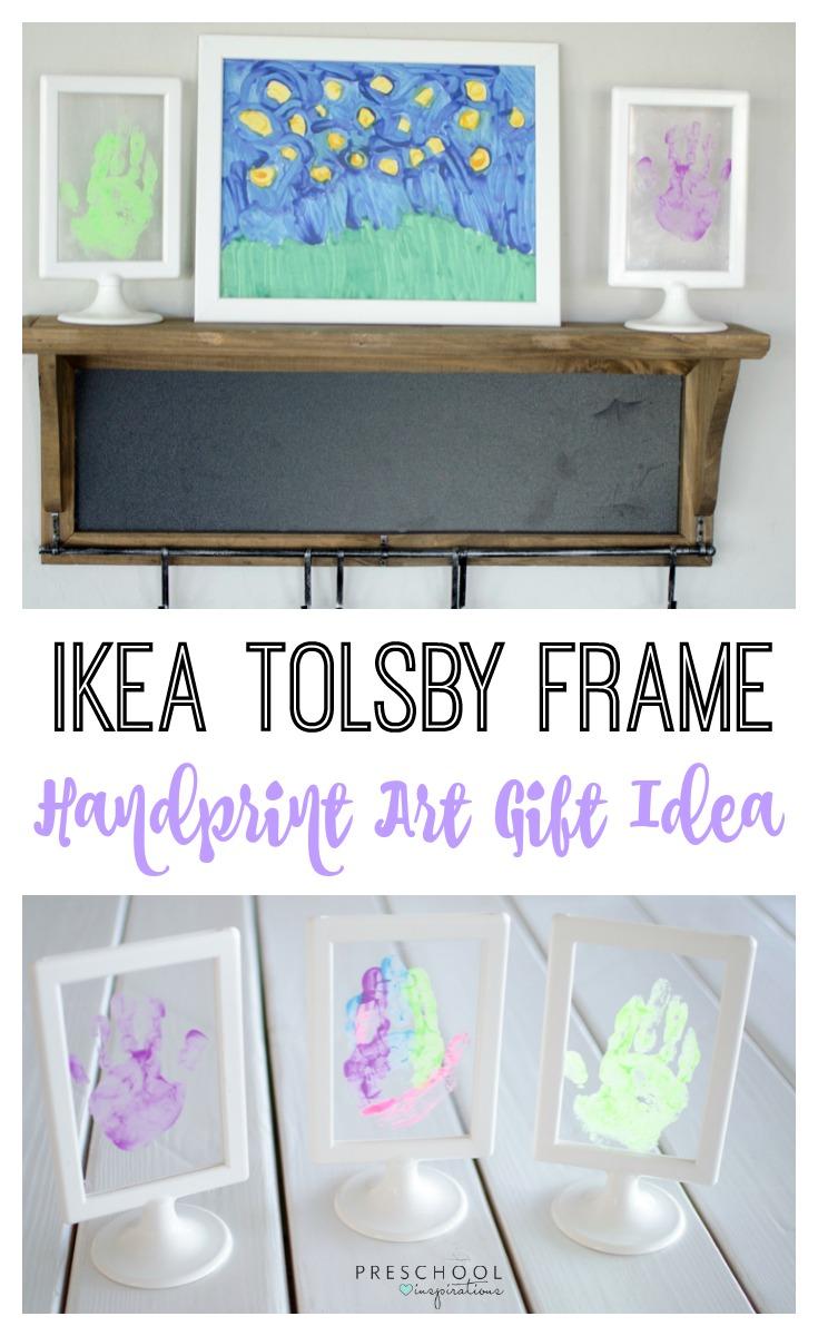 IKEA Tolsby Frame Handprint Art Gift Idea